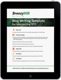 Download Our FREE Blogging Template For Easy SEO!